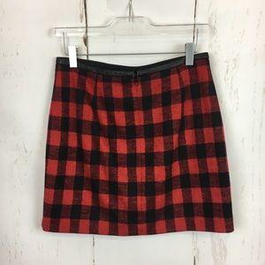 Madewell Skirts - Madewell | Buffalo Plaid Check Mini Skirt
